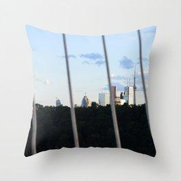 Toronto Series - Fenced Throw Pillow