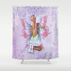 Make a Wish Fairy Shower Curtain