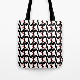 Bully Love on a black background Tote Bag