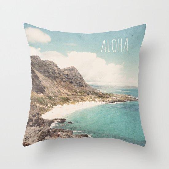 Aloha Throw Pillow
