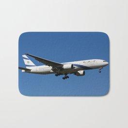 El Al Boeing 777 Bath Mat