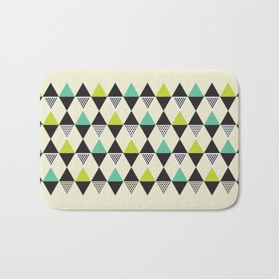 Mid-century pattern Bath Mat