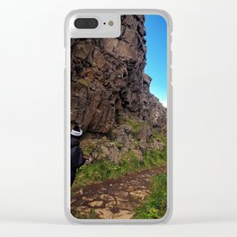 Þingvellir/Thingvellir National Park, Iceland (3) Clear iPhone Case