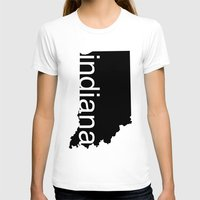 indiana T-shirts featuring Indiana by Isabel Moreno-Garcia