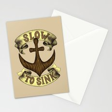 Slow to Sink Stationery Cards