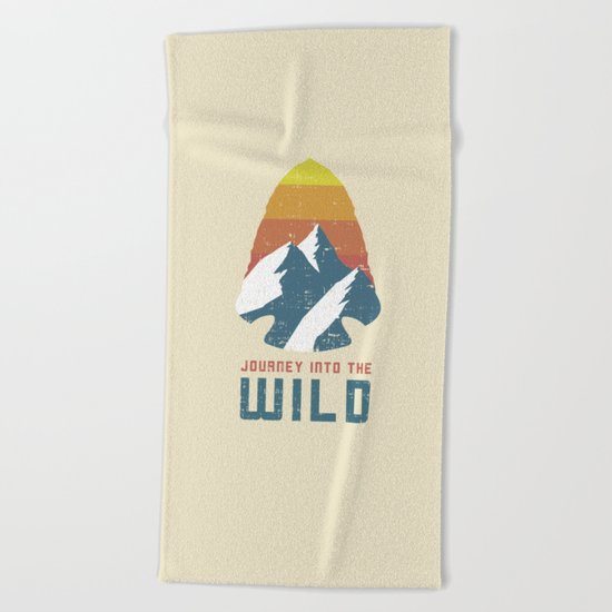 Journey Into the Wild Beach Towel