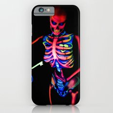 Black Light Skeleton  iPhone 6s Slim Case