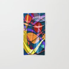 Abstract #358 Hand & Bath Towel