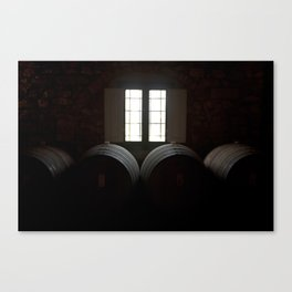 Wine in Chianti Canvas Print