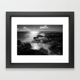 Shores Framed Art Print