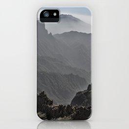 Mountains of La Palma iPhone Case