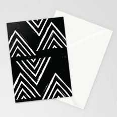 The Mountain Top - in Black Stationery Cards