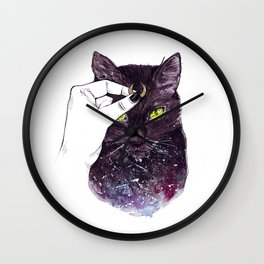 Luna Costume Wall Clock