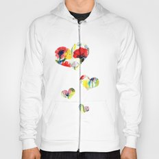 Poppy Floral Hoody