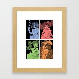 The Inner Soldiers Framed Art Print
