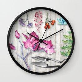 Botanica II Wall Clock