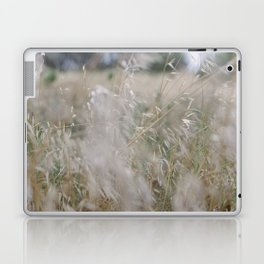 Tall wild grass growing in a meadow Laptop & iPad Skin