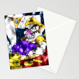 Wario-ing Stationery Cards