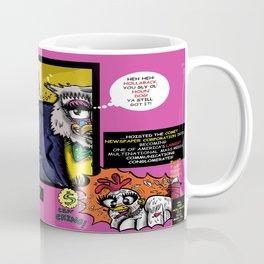 Bird of Steel Comix - Page #4 of 8 (Society 6 POP-ART COLLECTION SERIES)  Coffee Mug