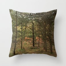 Woods of Memory Throw Pillow