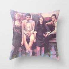 Gossip Girl American TV series Throw Pillow