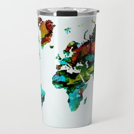 Design 95 World Map Travel Mug