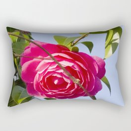 Summer Rose Rectangular Pillow
