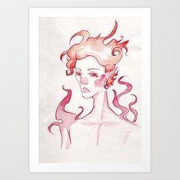 Corched Inktober 2018 Art Print