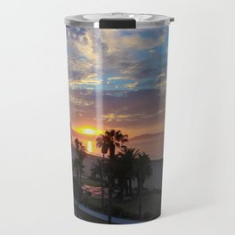 Big Blue Sunrise in Santa Barbara Travel Mug