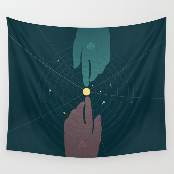 Parallel Universe Wall Tapestry