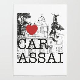 CARASSAI Chiesa del Buon Gesù Poster