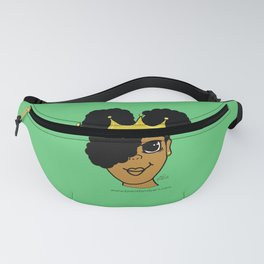 Royalty (Green) Fanny Pack