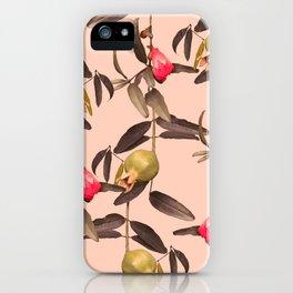 Pomegranate Vine iPhone Case