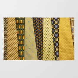 Load of Ties - Yellow 2 Rug