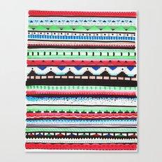Pattern Doodle Three Canvas Print