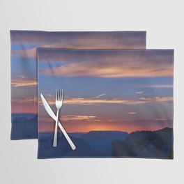 Colorful Sunset - North_Rim, Grand_Canyon, AZ Placemat