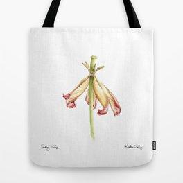 Fading Tulip Tote Bag