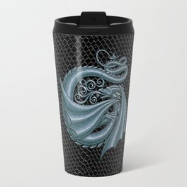 Dragon Letter G, from Dracoserific, a font full of Dragons. Travel Mug