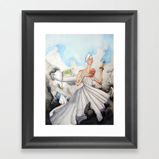 The Alluring Annoyance of...Renewal Framed Art Print