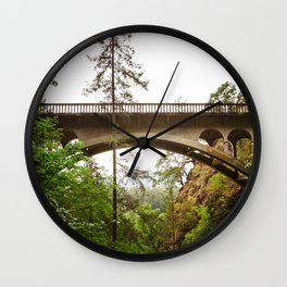 Over or Under Wall Clock
