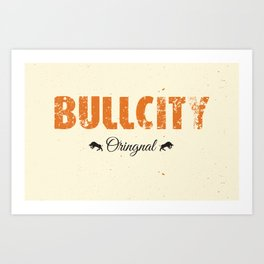Bull City Art Print