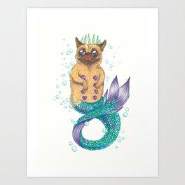 The Little Pugmaid Art Print