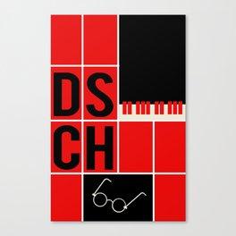 Dmitri Shostakovich - DSCH Canvas Print