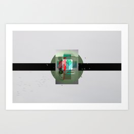 As Fast As They Came Art Print