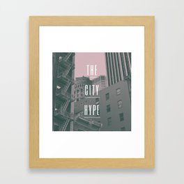 The City Hype 2 Framed Art Print