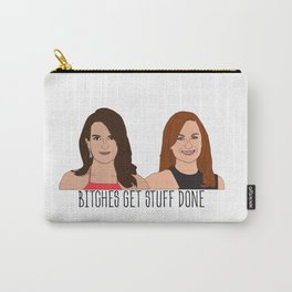 Tinamy Tina Fey and Amy Poehler Bitches Get Stuff Done Carry-All Pouch