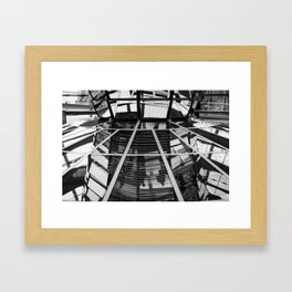 The base of the cone Framed Art Print