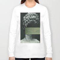 rothko Long Sleeve T-shirts featuring Frau Rothko by Marko Köppe