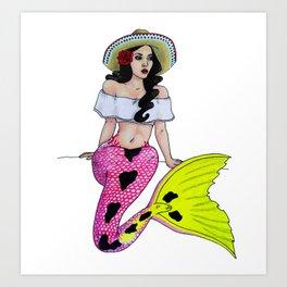 Cinco de Mer-mayo Art Print