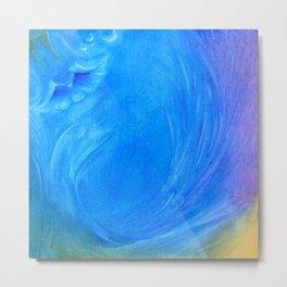 Serenity/Blue Metal Print